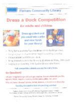 Dress a Duck :-)